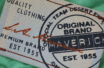 Printed clothing labels